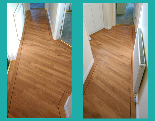 Karndean Designflooring Da Vinci Fresco Light Oak After